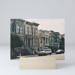 San Fran Streets Mini Art Print