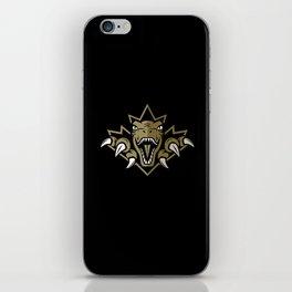Dino Gold Leaf iPhone Skin