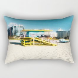 Miami Beach Rectangular Pillow