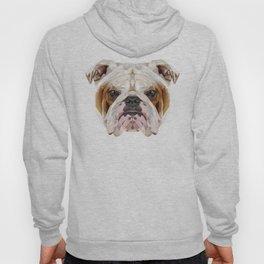 English Bulldog // Natural  Hoody