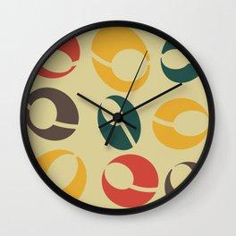 Mid-Century Modern Martini (gold) Wall Clock