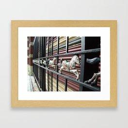 merry pony Framed Art Print