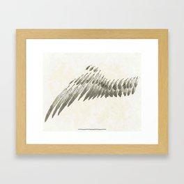 Wing Framed Art Print