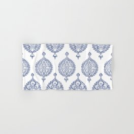 Endana Medallion Print in Periwinkle Hand & Bath Towel