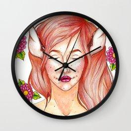 Honey Honey Wall Clock