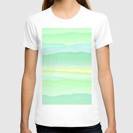 Mint Aqua Rolling Hills T-shirt