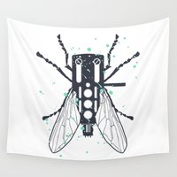 deadmau5 Wall Tapestries featuring Cartridgebug by Sitchko Igor