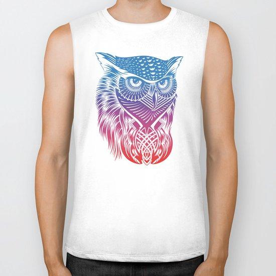 Owl of Color Biker Tank
