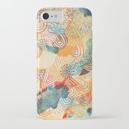 I dream in colors iPhone Case