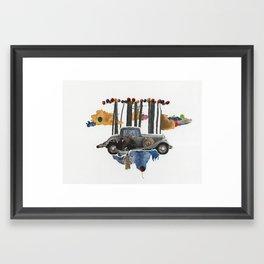 A Cherry On Top Framed Art Print