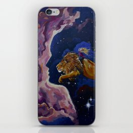 Lily the Lionhearted iPhone Skin