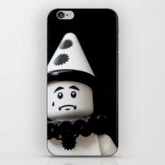 The Sad Sad Clown iPhone & iPod Skin