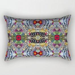 Crosstown Mural Rectangular Pillow