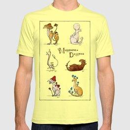 Mushroom Dragons (Fungus Draconis) T-shirt