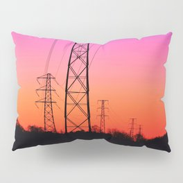 Power lines 18 Pillow Sham