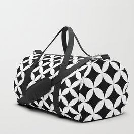 Shippo (cloisonne)Geometric Pattern Duffle Bag