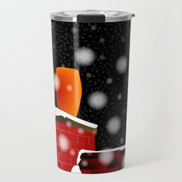 On The Roof Travel Mug
