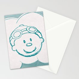 Mr. Meteo Stationery Cards