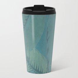 Faded Palms Pattern Travel Mug