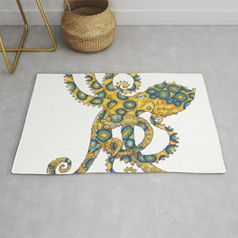 Blue Ringed Octopus dance Rug