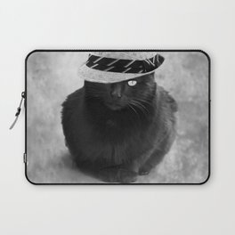 Cat with hat Laptop Sleeve