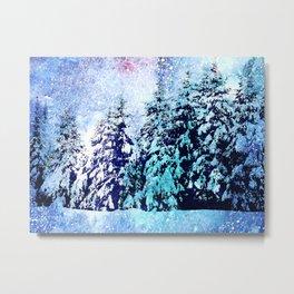 The magic of winter wonderland Metal Print