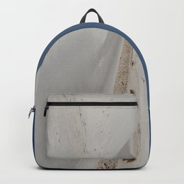 White Sand Reaches Up To The Horizon Backpack