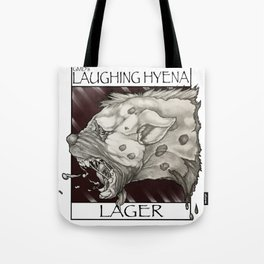 GMDs Laughing Hyena Lager Tote Bag