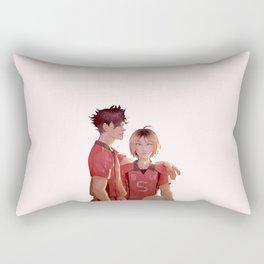 Nekoma Best Buddies (Kuroo & Kenma) Rectangular Pillow