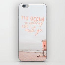 Ocean Is Calling iPhone Skin