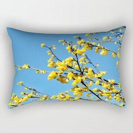 boom boom bloom Rectangular Pillow