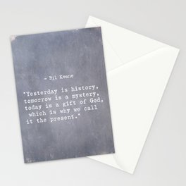 Bil Keane quote 2 Stationery Cards