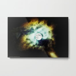 The Darkness Comes Metal Print