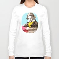 beethoven Long Sleeve T-shirts featuring Ludwig van Beethoven 4 by Marko Köppe