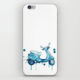 Scooter Away iPhone Skin