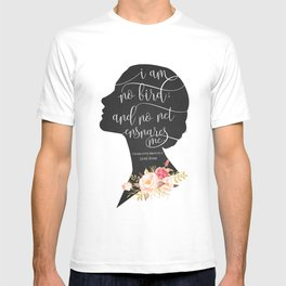 I am no Bird - Charlotte Bronte's Jane Eyre T-shirt