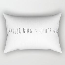 Chandler Bing > other guys Rectangular Pillow