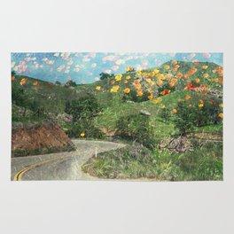 MM 313 . Poppy Roads Rug