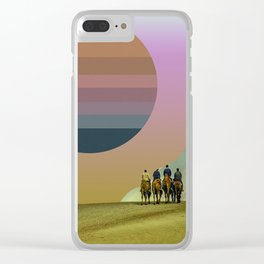 tycho sun Clear iPhone Case