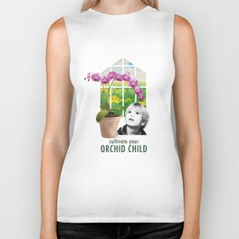 Cultivate Your Orchid Child Biker Tank