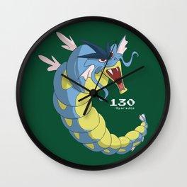 Pkmn #130: Gyarados Wall Clock