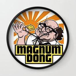 Magnum Dong Wall Clock
