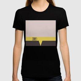 Miles O'Brien - Minimalist Star Trek DS9 Deep Space Nine - Chief  - startrek - Trektangles T-shirt