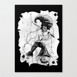 Talented Afro Canvas Print