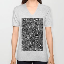 Abstract MAGA Typography Unisex V-Neck