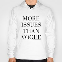vogue Hoodies featuring #VOGUE by YUNG-GOD
