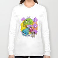 pacman Long Sleeve T-shirts featuring Pacman by Jesús L. Yapor