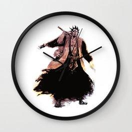 Kenpachi Zaraki & Yachiru Kusajishi Wall Clock