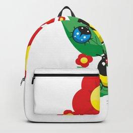 Ladybugs on Flowers #society6 #decor #buyart #artprint Backpack