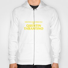Written And Directed By Quentin Tarantino Hoody